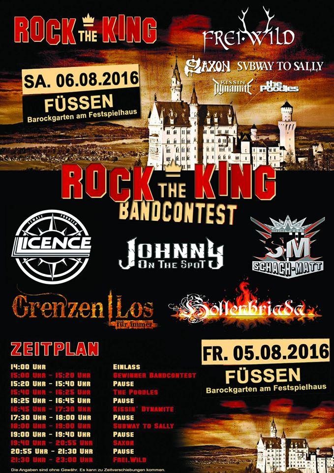 Rock The King Wallpaper